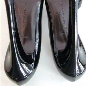 Bottega Veneta Shoes - Black Patent D'Orsay Heels Pumps Amazing!